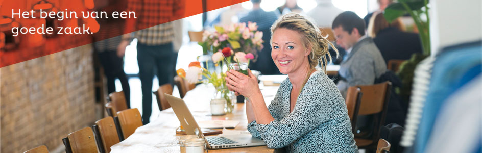 Debbie Pool zelfstandig ondernemer van Ffoon goed geholpen door het Starterscentrum Limburg