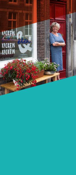Marianne-Kicken-Eten-puur-en-eerlijk goed geholpen door het Starterscentrum Limburg